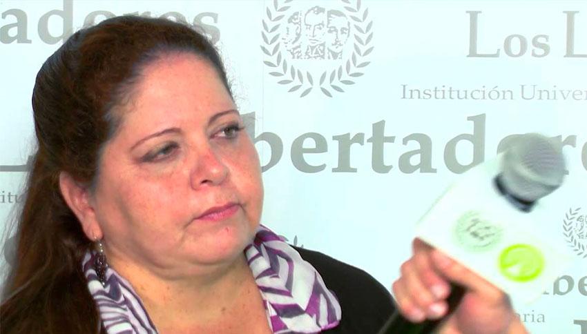 Tourism Minister Vanegas.