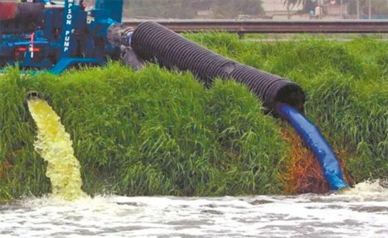 water discharge