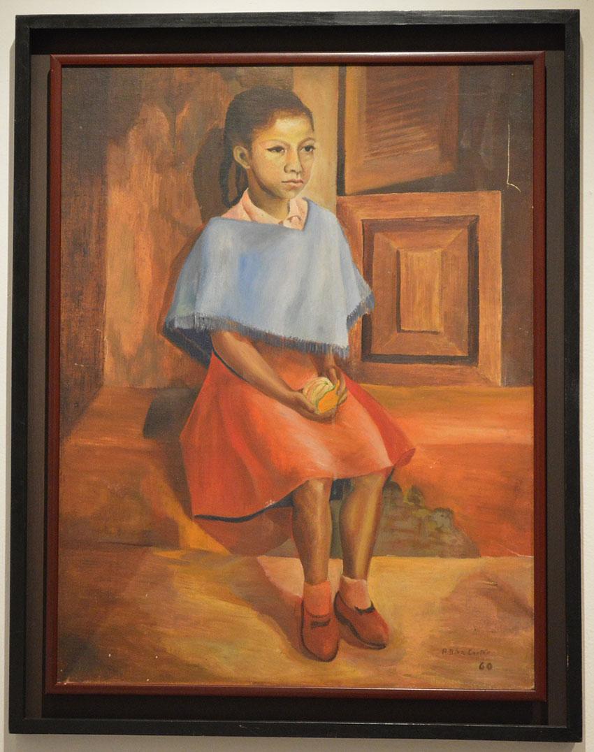 Niña Jarocha by Antonio Díaz Cortes.