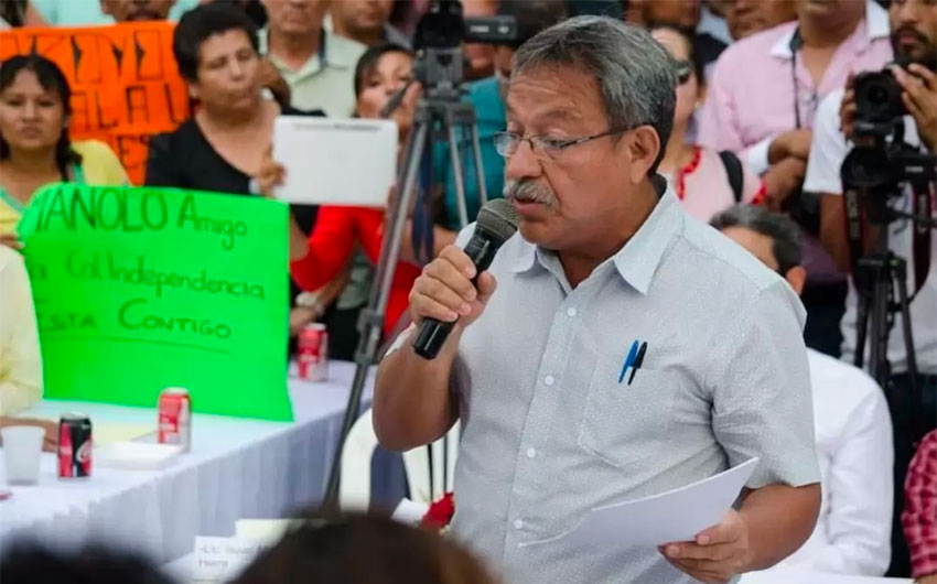 Herrera was working to stop a housing development.