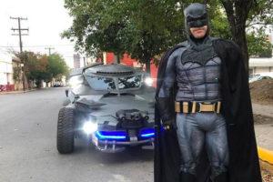Batman in Monterrey on the weekend.