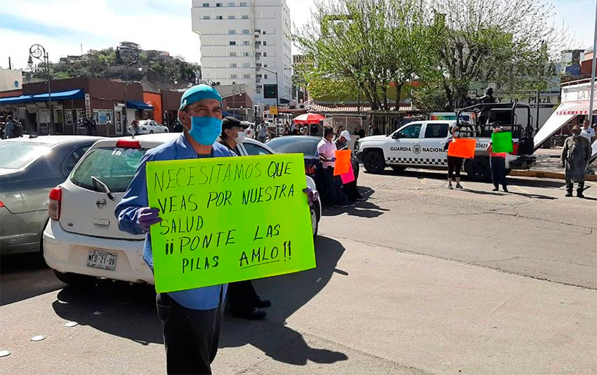 In the wake of Covid-19, Sonorans demand tighter border controls