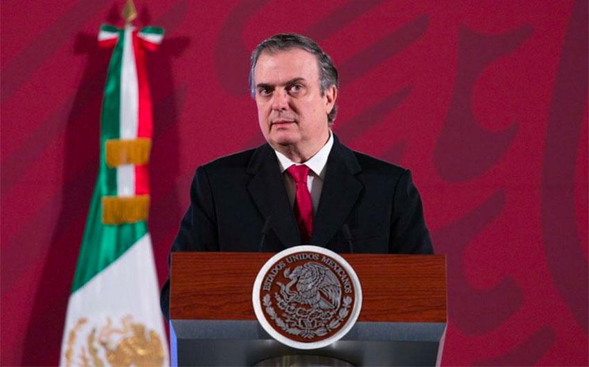 Ebrard: no plans to suspend Europe-Mexico flights.