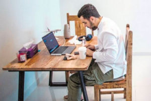 As more people work from home, the higher the demand for internet.