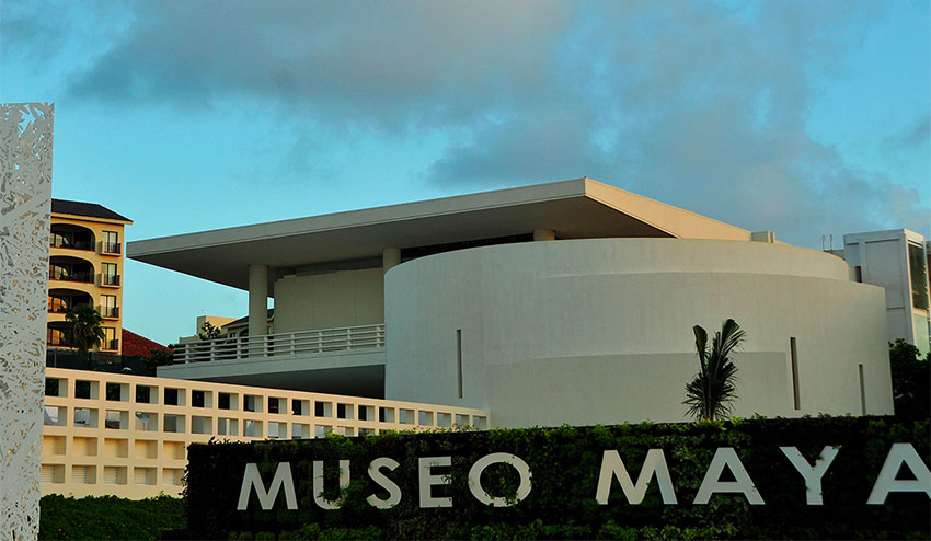 The Maya Museum in Cancún is one of those that can be visited online.