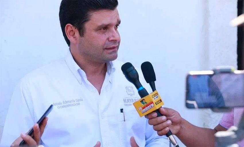 Nayarit Governor Echeverría.