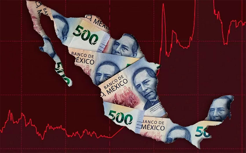 Pesos In Wake Of Collapsing Oil Prices