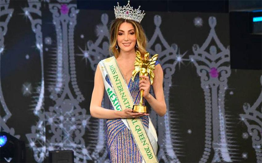 Beauty pageant winner Fluchaire.