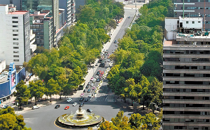 Paseo de la Reforma will be the site of new projects.