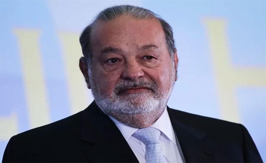 Businessman Carlos Slim.