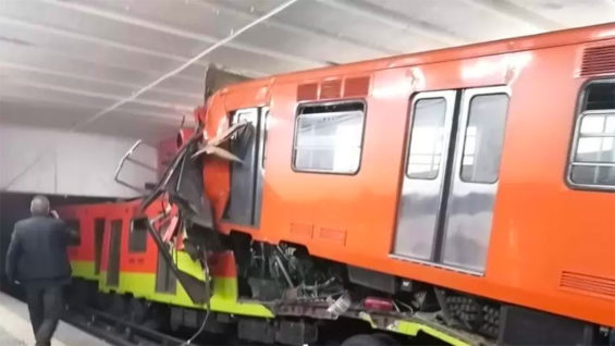 Tuesday's train crash on the Metro.