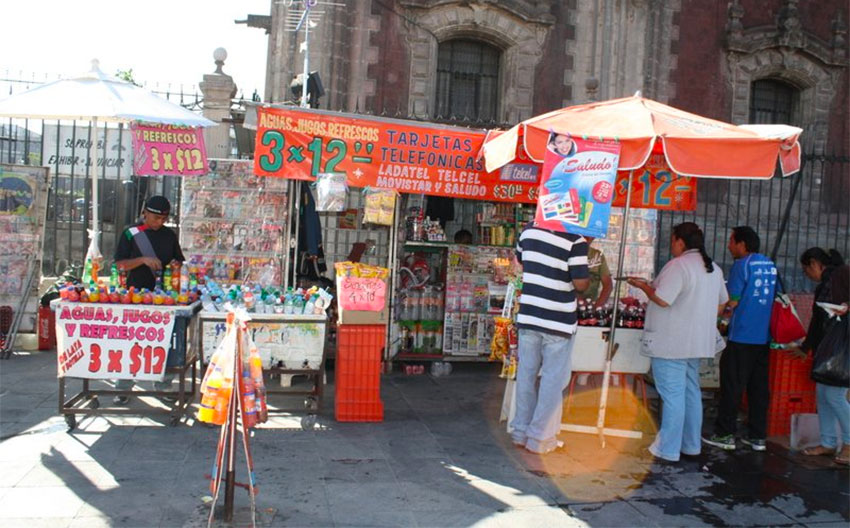 Street vendors could feel the economic impact more than most.