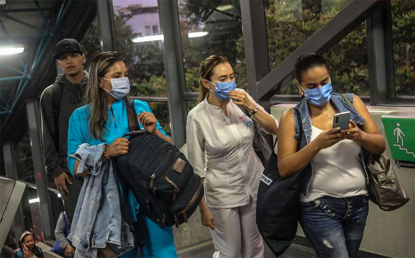 Face masks are becoming more common throughout Mexico in the face of the coronavirus pandemic.