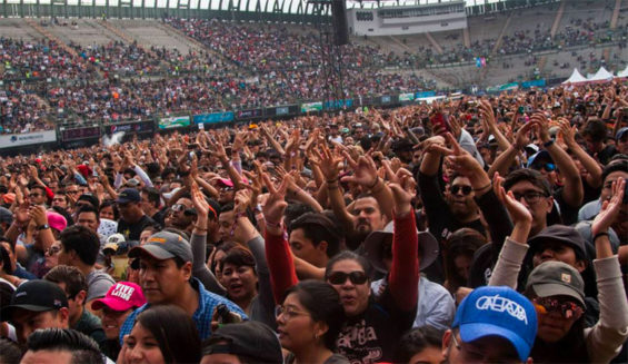 Last weekend's Vive Latino music festival, which drew over 100,000 people, was the last big event in Mexico City until the coronavirus threat is over.