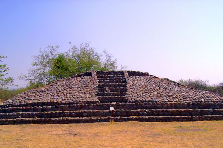La Campana, Colima, was the largest pre-Hispanic population center in West Mexico.