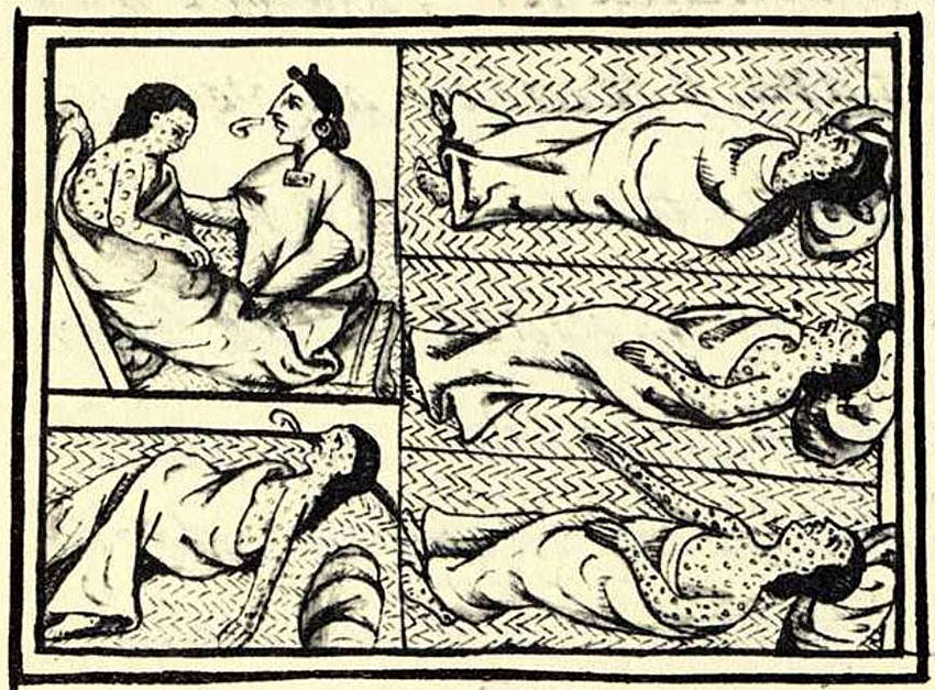 Central Mexican victims of 1520 smallpox epidemic.