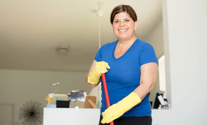 Paying the housekeeper to stay at home 'seemed the right thing to do.'