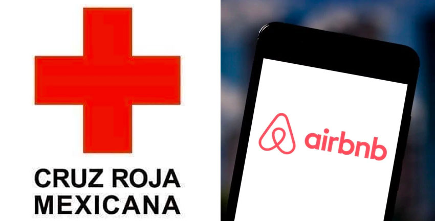 airbnb and red cross