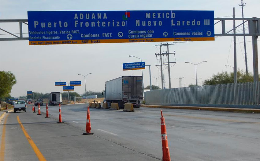 Both traffic and trafficking are down at the Mexico-US border.