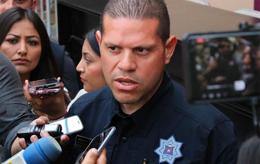 Tijuana Police Chief Esparza.