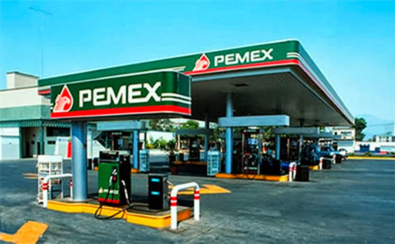 Business is slow at Mexico's gas stations.