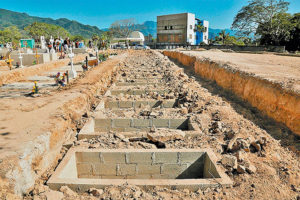 municipality of Puerto Vallarta has prepared 500 graves with capacity for two bodies each in preparation for Covid-19 deaths.
