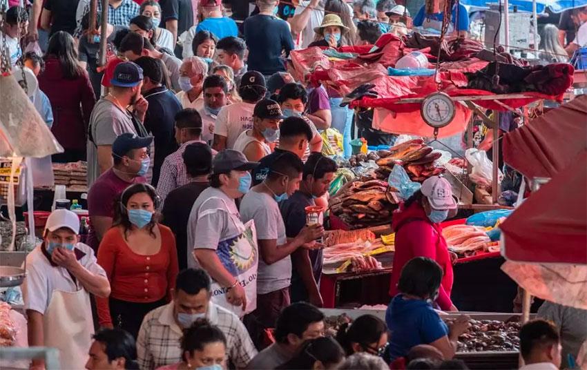 The Nueva Viga market in Iztapalapa, Mexico City.