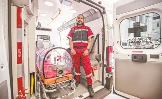 Red Cross coordinator Rodríguez.