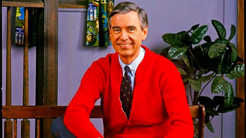 Mr. Rogers: positive, masculine energy.