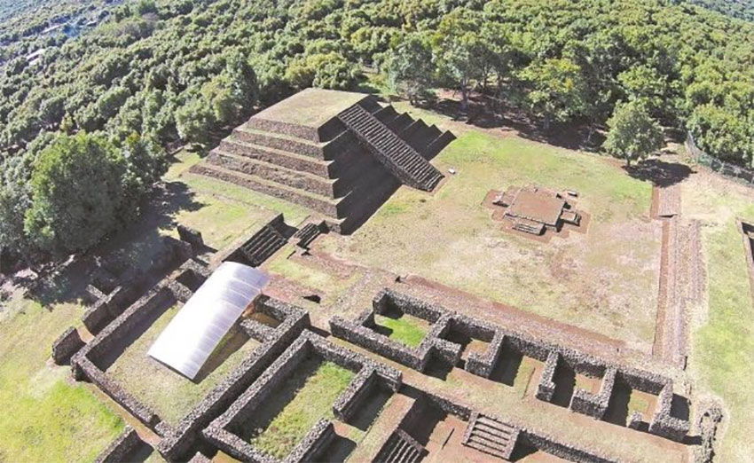 Tingambato, Michoacán, site of three ancient settlements.