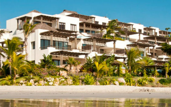 The Nayarit resort from which some guests escaped quarantine.