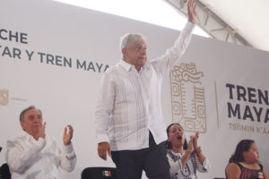 For AMLO, it's all aboard and full steam ahead.