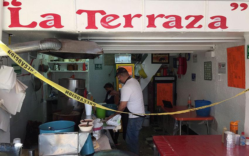La Terraza in Mexico City's La Guerrero neighborhood.
