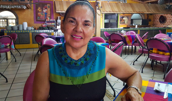 Lorena Hinojosa of Canirac, the restaurant association.