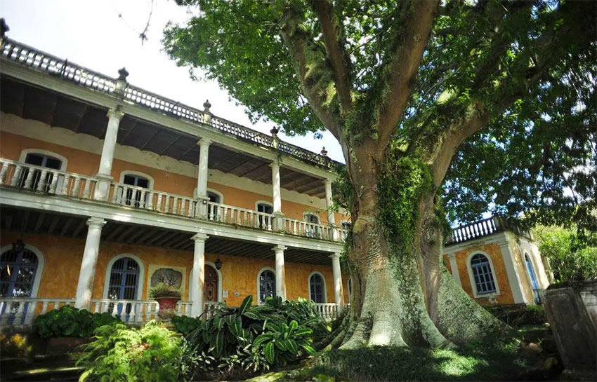 La Ceiba, a former hacienda in Veracruz that is now home to La Ceiba Gráfica.