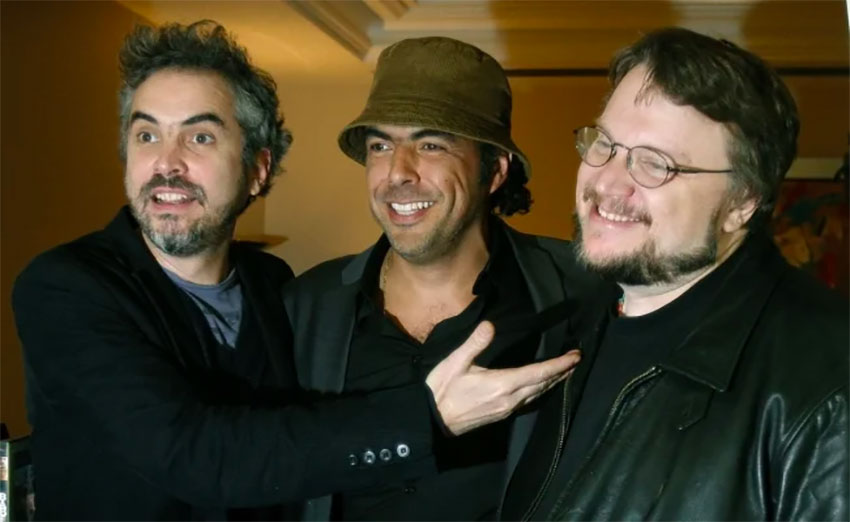 Filmmakers, from left, Cuarón, Iñárritu and del Toro argued successfully against elimination of fund.