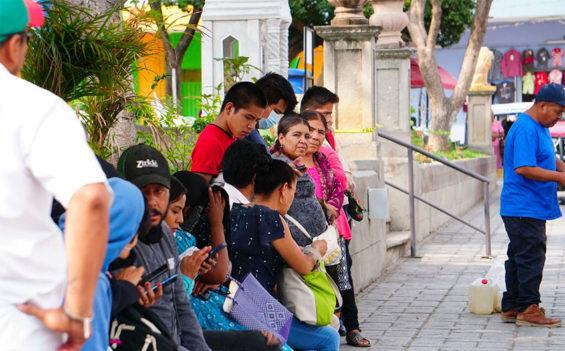 Ejutla, Oaxaca, where coronavirus restrictions have been lifted.