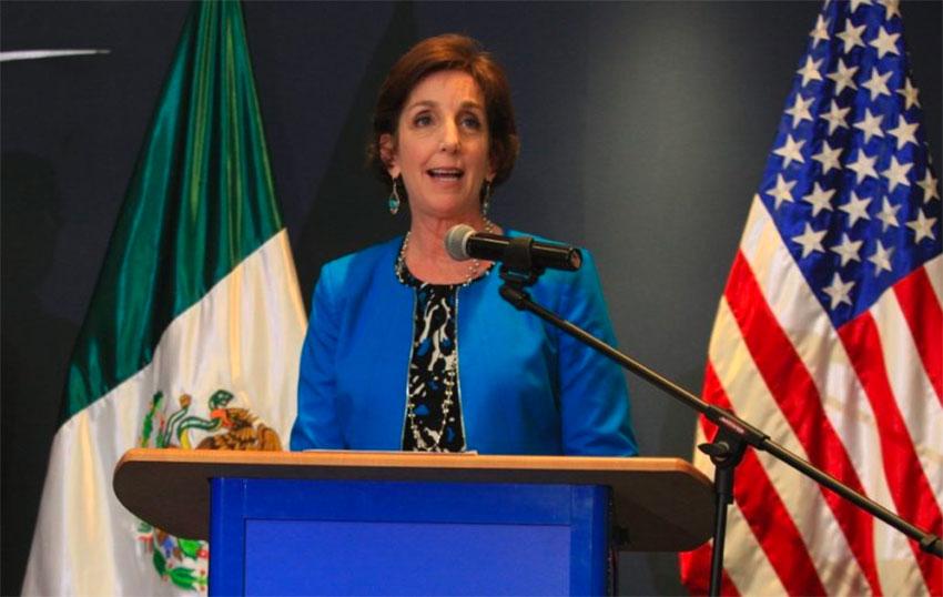 Former ambassador Jacobson.
