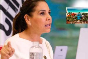 Mayor Lezama: no privatization of beaches.