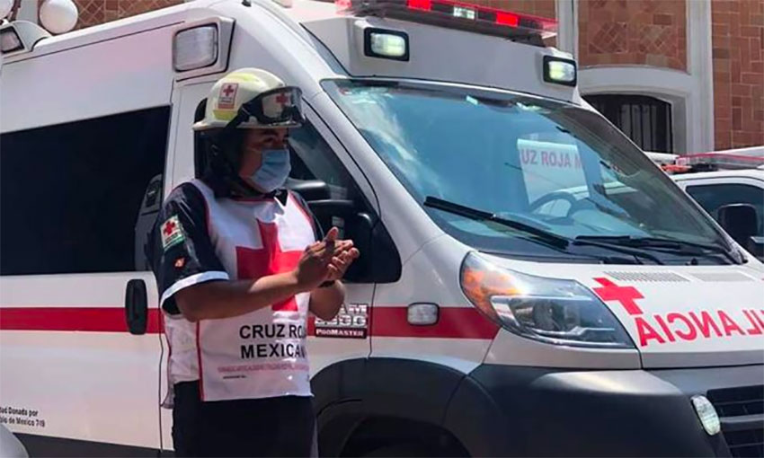 Red Cross workers have been among those attacked by citizens fearing the spread of coronavirus.