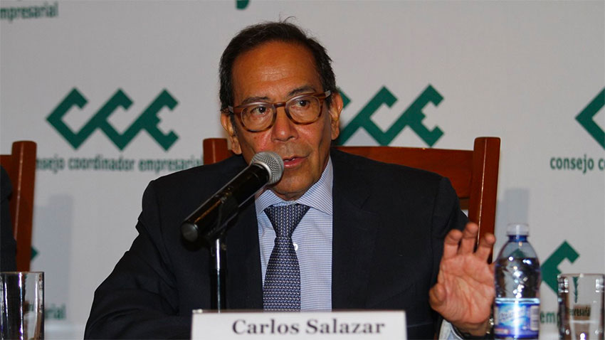 CCE chief Salazar: private sector needs help to reactivate the economy.