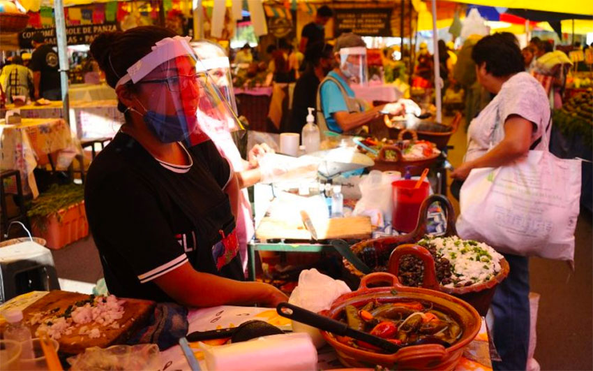 Market vendors will be paid to stay home in Mexico City.