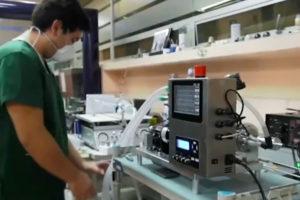 The new ventilator, made in Mexico.