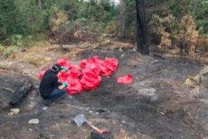 Hospital waste dumped outside Mexico City.