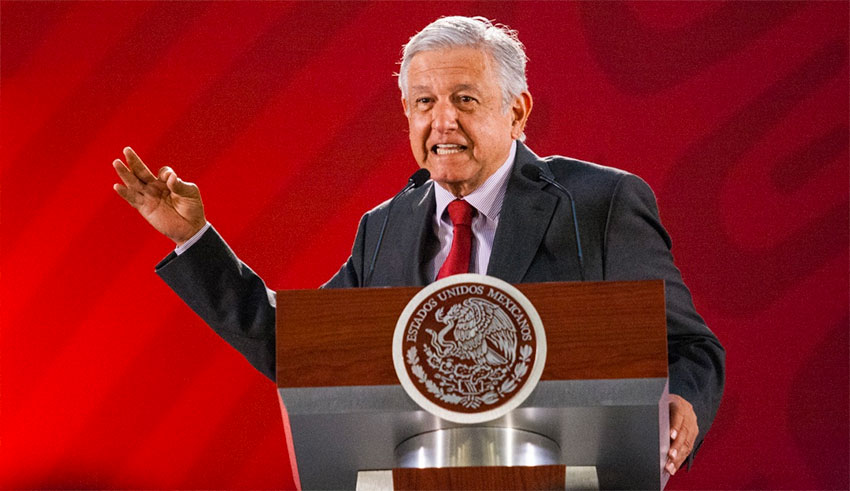 AMLO uses daily news conferences to blast 'corrupt' rivals and insists that graft is no longer tolerated.
