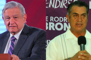 López Obrador, left, has no vision, according to Rodríguez.