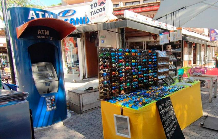 A Multiva ATM in Playa Del Carmen, Quintana Roo