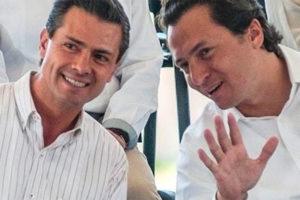 Peña Nieto, left, and Lozoya