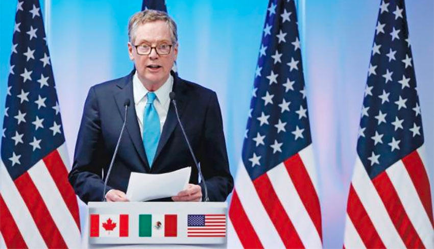 US Trade Representative Lighthizer warned Mexico to prepare for challenges.
