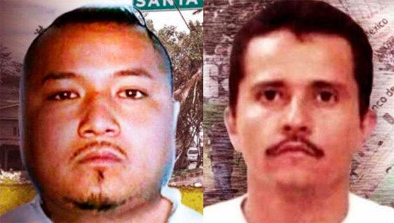 El Marro, left, and El Mencho are fighting for Guanajuato.